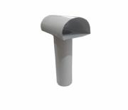TEE Ventilante p/Saida de Coifa ou Aquecedor Compr. 300 mm