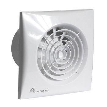 8pçs Exaustor Para Banheiro Silent-100 Crz C/timer 110v S&p  - Nova Exaustores