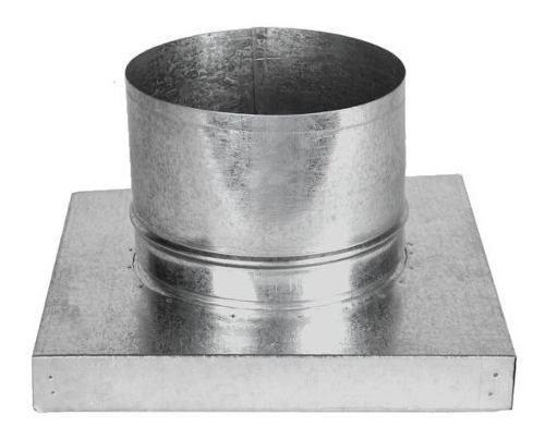 Adaptador P/churr. Pré-mold. C/Duto 150mm c/3m + Grelha Ret.  - Nova Exaustores