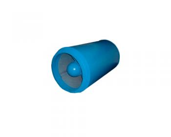 Atenuador de Ruidos Cilindrico Diam. 500 mm  - Nova Exaustores