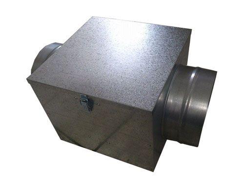 Caixa de Filtragem NovaBox-125 (Filtro G4+Carvão Ativado)  - Nova Exaustores