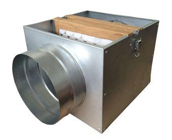 Caixa de Filtragem NovaBox-150 (Filtro G4)  - Nova Exaustores
