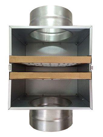 Caixa de Filtragem NovaBox-200 (Filtro G4+Carvão Ativado)  - Nova Exaustores