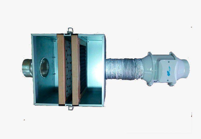 Caixa de Filtragem NovaBox-200 (Filtro G4+M5)  - Nova Exaustores