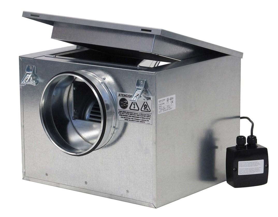Caixa de Ventilação para Forro Modelo: CAB-250 - 220V - S&P  - Nova Exaustores