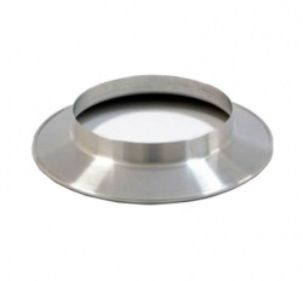 Duto De Alum. Semi-flex.  (1,5m) + 1 Abraç. 120mm + 1 Anel  - Nova Exaustores