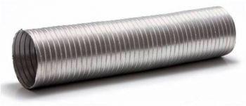 Duto De Aluminio 203mm C/1,5 + 3m C/luva E 2 Abraçadeiras  - Nova Exaustores