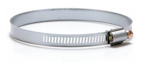 Duto De Aluminio Semi-flex. (c/3m) 100mm C/luva + 2 Abraç.  - Nova Exaustores