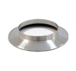 Duto Flexivel Aluminizado 125mm c/10m + 2 Anel + 2 Abraç.  - Nova Exaustores