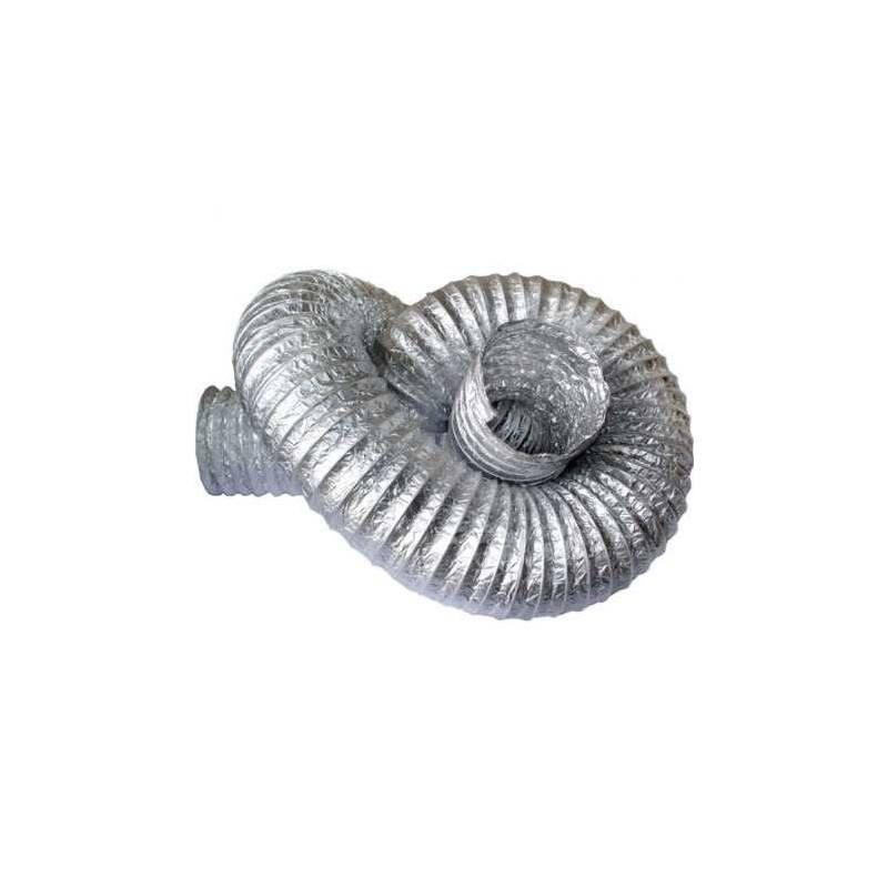 Duto Flexivel Aluminizado LEVE (Rolo c/10m)  - Nova Exaustores