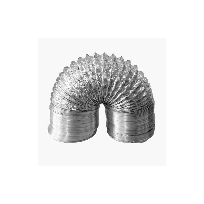 Duto Flexivel Aluminizado (Rolo c/3 metros)  - Nova Exaustores