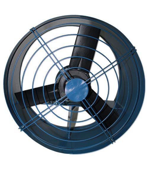 Exaustor Axial c/Carrinho Indl. Trif. 700mm Mod: EAFC700-T6  - Nova Exaustores
