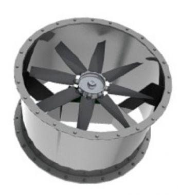Exaustor Axial Indl. Trifásico Diam. 1000 mm Mod: EA1000-T8  - Nova Exaustores