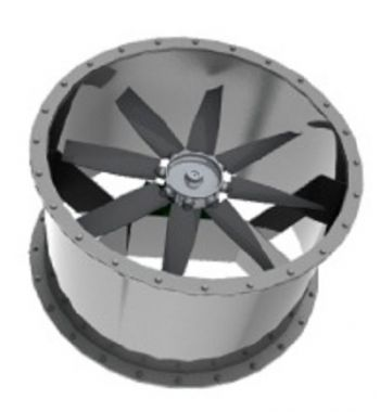 Exaustor Axial Indl. Trifásico Diam. 700 mm Mod: EA700-T6  - Nova Exaustores