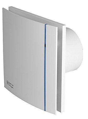 Exaustor Banh. Silent-100cz Design 110V + 4m Duto + Grelha  - Nova Exaustores