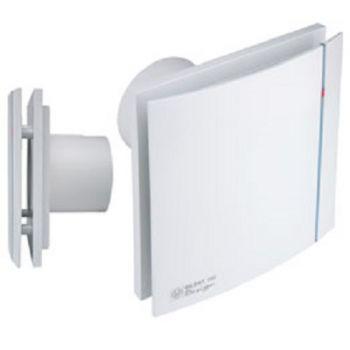 Exaustor Banheiro Silent-100crz Design Timer 110v+Grelha RET  - Nova Exaustores