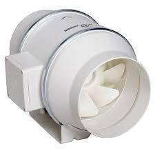 Exaustor p/Banheiro Helicocentrifugo InLine Mod: TD250/100T c/Timer S&P  - Nova Exaustores