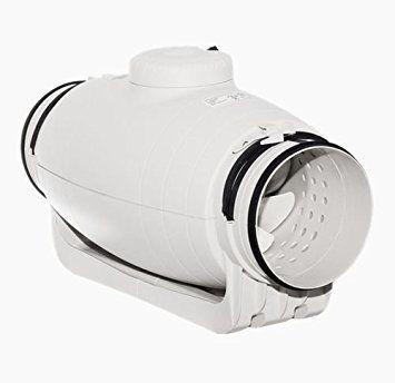 Exaustor p/Banheiro Helicocentrifugo InLine Mod: TD350/125 Silent S&P  - Nova Exaustores