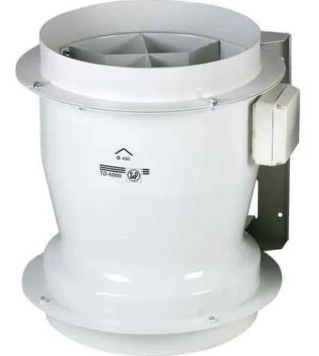 Exaustor p/Banheiro Helicocentrifugo InLine Mod: TD6000/400 S&P  - Nova Exaustores