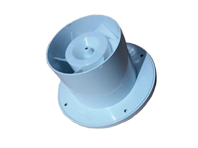 Exaustor p/Banheiro MegaKit-10 Bivolt + Duto 1m + Grelha  - Nova Exaustores