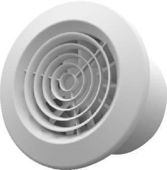 Exaustor p/Banheiro Mod: Sonora-18 Bivolt + 6m Duto + Grelha  - Nova Exaustores