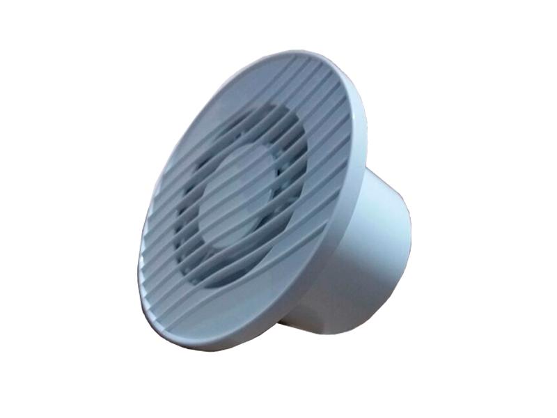 Exaustor p/Banheiro MegaKit-10 Bivolt +Duto 1m + Grelha  - Nova Exaustores