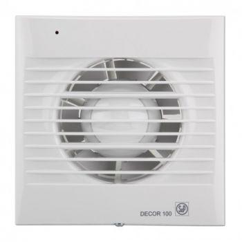 Exaustor para Banheiro Mod: DECOR100 CR C/Timer S&P  - Nova Exaustores