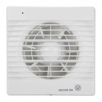 Exaustor para Banheiro Mod: DECOR200 CR C/Timer S&P  - Nova Exaustores