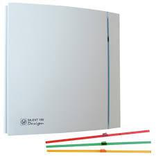 Exaustor para Banheiro Mod: Silent-100CZ Design S&P - Soler & Palau  - Nova Exaustores