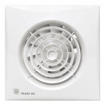 Exaustor para Banheiro Mod: Silent-200 CRZ c/Timer S&P  - Nova Exaustores