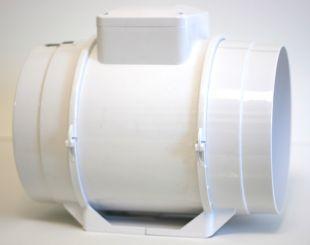 Exaustor para Banheiro Tipo Centrifugo InLine Maxx200 - 220V  - Nova Exaustores