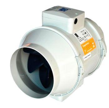Exaustor Turbo-200 c/2 Grelha Ventidec-200 c/20m Duto Flex.  - Nova Exaustores