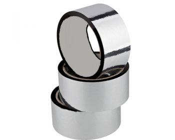 Fita Adesiva de Polipr. Aluminizado (BOPP) 48mm X 50m c/6 pçs  - Nova Exaustores