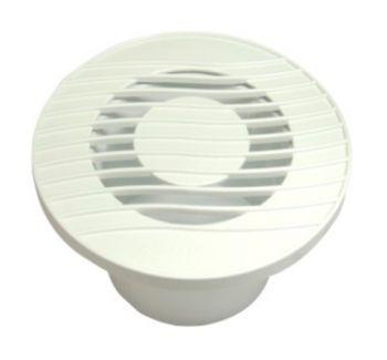 Grelha de Acabamento Interno p/Exaustor de Banheiro Mod: GAI-150  - Nova Exaustores