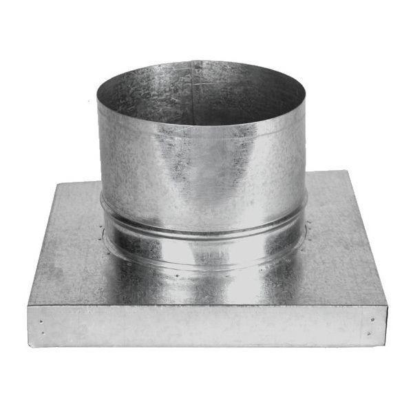 Kit Adaptador p/Churr. Pré-Mold. e Duto Alum. 150mm c/3m  - Nova Exaustores