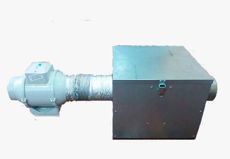 Kit Caixa Filtragem Novabox-125 (filtro G4+CA)+grelhas+duto  - Nova Exaustores