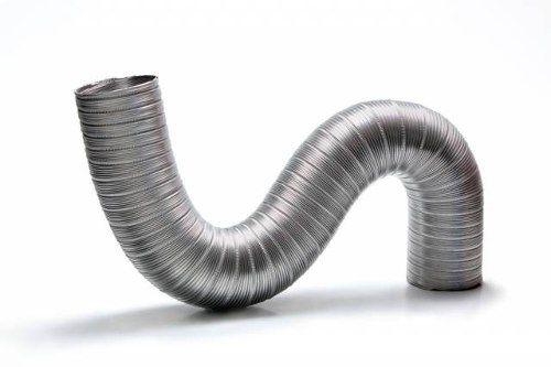 Kit Duto Alum. Semi-flexivel 130mm 3m + 2 Luva + 2 Abraç.  - Nova Exaustores