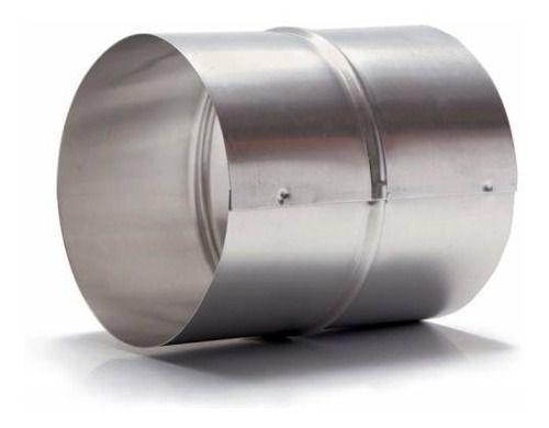 Kit Duto Semi-flex. 100mm C/3m (2pçs) C/1 Luva + 4 Abraç.  - Nova Exaustores