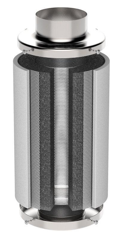 Kit p/Estufa Grow Exaustor Silent + Filtro Carvão 250 m³/h  - Nova Exaustores