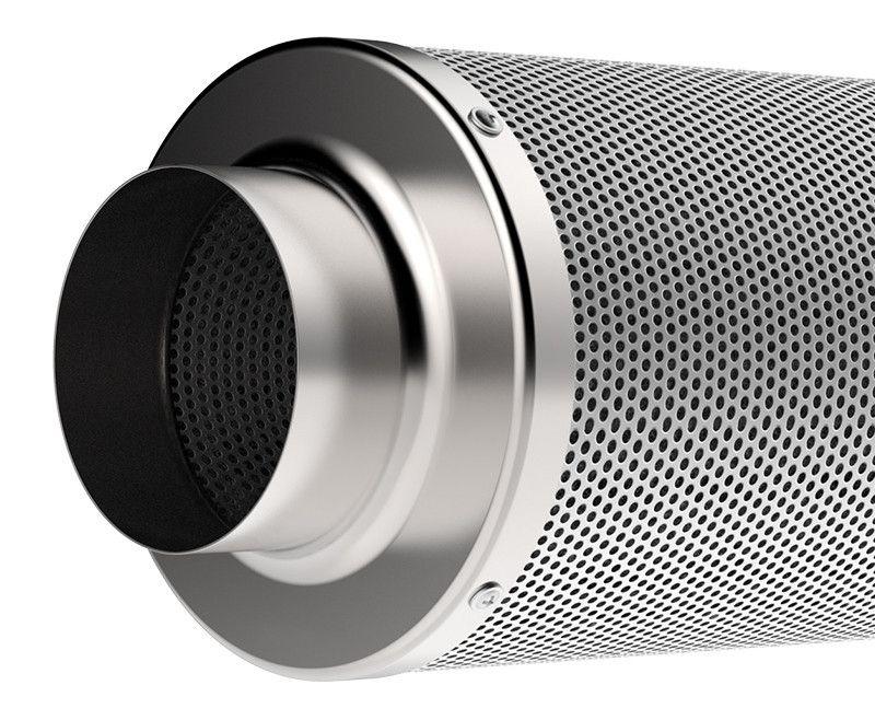 Kit p/Estufa Grow Exaustor Silent + Filtro Carvão 400 m³/h  - Nova Exaustores