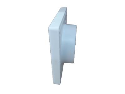 Kit p/Instalação Coifa Auto-Fechante 120mm + Flex. 10m+ Anel  - Nova Exaustores