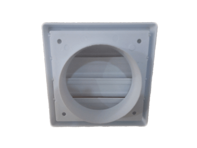 Kit p/Instalação Coifa Auto-Fechante 150mm + Duto Semi 5m  - Nova Exaustores