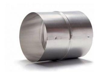 Kit p/Instalação Coifa Auto-Fechante 150mm + Flex. 2m + Luva  - Nova Exaustores