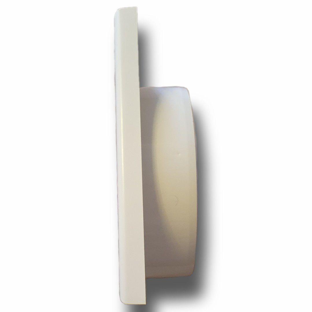 Kit P/Instalação Coifa Grelha Fixa 126mm + Duto Semi 3m  - Nova Exaustores