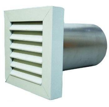 Kit p/instalação Coifa Grelha Invert. 150mm + Duto Flex. 5m  - Nova Exaustores
