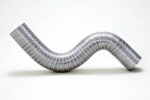 Kit p/Instalação Coifa Grelha Invert. 150mm Pto. + flex. 3m  - Nova Exaustores