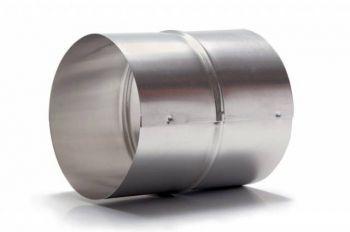 Luva De União P/duto Semi-flexivel 120mm + 3 Abraçadeiras  - Nova Exaustores