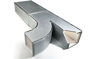 Painel MPU p/dutos de ar condicionado 10mm x 2,0m x 1,2m (2,4m²)  - Nova Exaustores