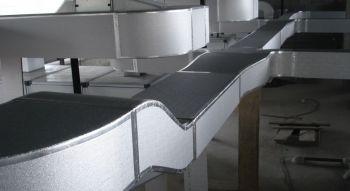 Painel MPU p/dutos de ar condicionado 20mm x 2,0m x 1,2m (2,4m²) (10pçs)  - Nova Exaustores