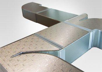 Painel MPU p/dutos de ar condicionado 20mm x 2,0m x 1,2m (2,4m²)  - Nova Exaustores